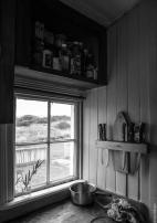 Homestead kitchen, Island Hill, Mason Bay
