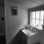 Homestead washroom, Island Hill, Mason Bay