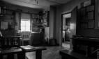 Homestead main room, Island Hill, Mason Bay